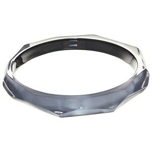 Alexis Bittar Faceted Lucite Bangle Bracelet